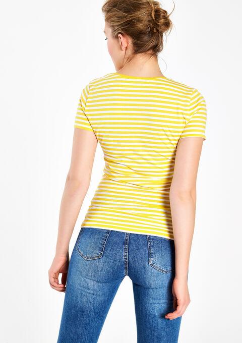 Basic T-shirt - YELLOW MAIZE - 02005343_4903