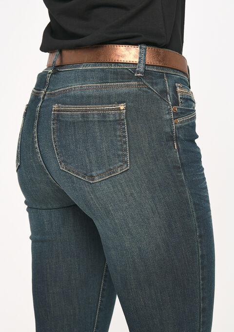 Jeans droit - DARK BLUE - 22000115_501
