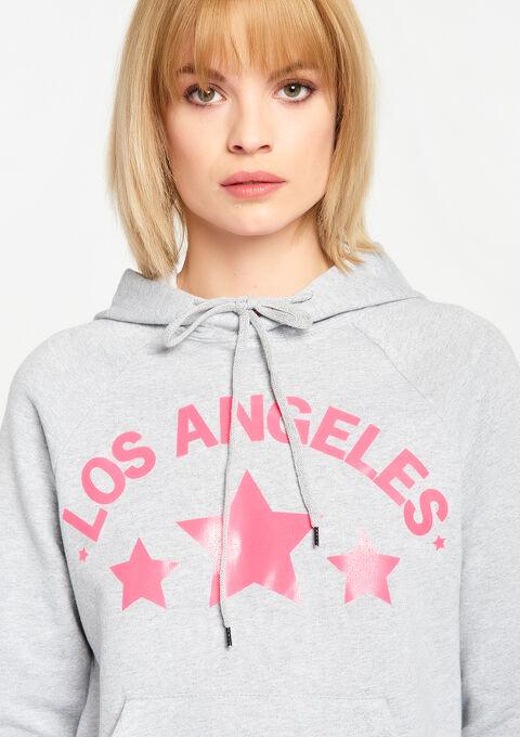 Hoody Los Angeles - FLUO PINK - 03001357_1394