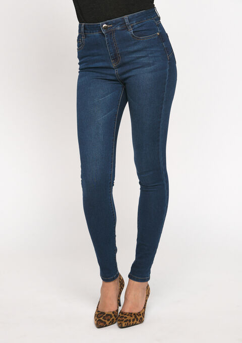 Jeans skinny - DARK BLUE - 22000099_501