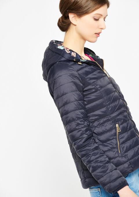 Gewatteerde jas, omkeerbaar - NAVY HEAVEN - 23000044_2711