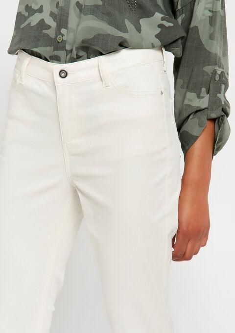 5 pockets broek - OFFWHITE - 06003939_1001