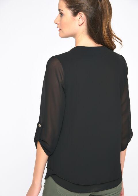 Cardigan lurex - BLACK BEAUTY - 05700600_2600