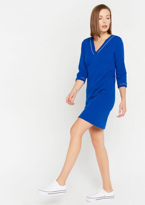 Robe mini droite - BLUE ELECTRICAL - 08101595_2805
