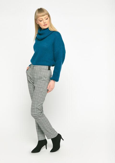 Pantalon à carreaux - BLACK - 06100240_1119