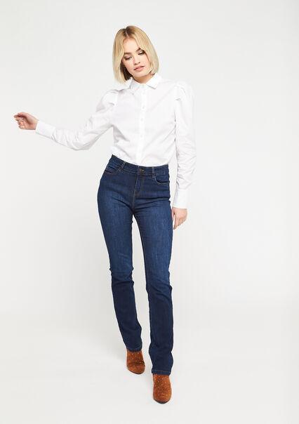 Jeans droit - DARK BLUE - 22000166_501