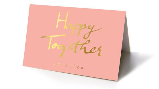 Carte cadeau  - HAPPYTOGETHER - 825164