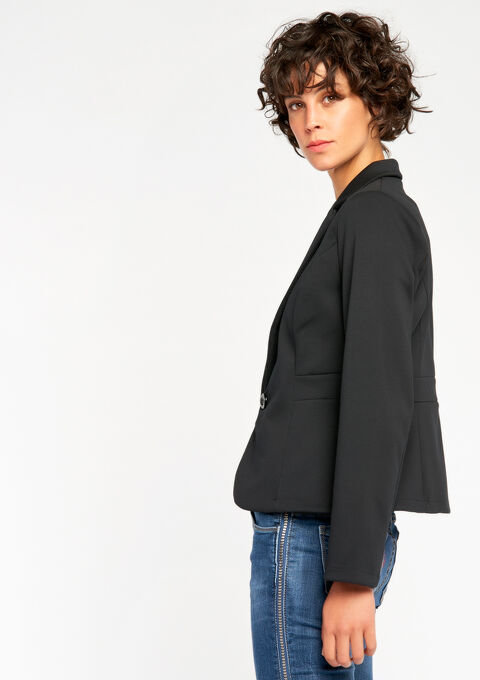 Klassieke blazer - BLACK - 09100058_1119