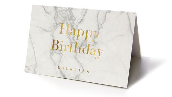 Carte cadeau - HAPPYBIRTHDAY - 824132