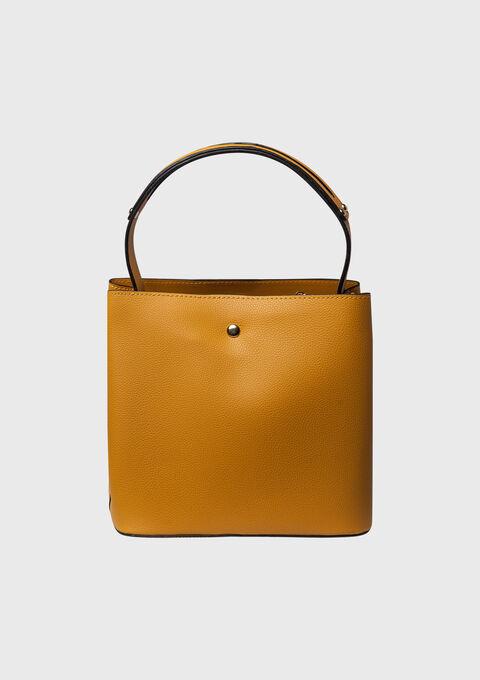 Handtas in trendy kleur met strik - YELLOW SUREAU - 935129