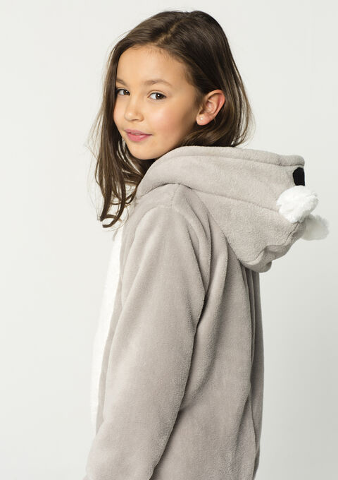 Onesie Koala - ALLOY GREY - 15000416_1072