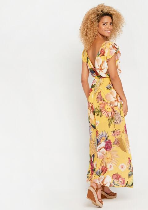 Robe longue, à fleurs - YELLOW SUMMER - 08600450_1185