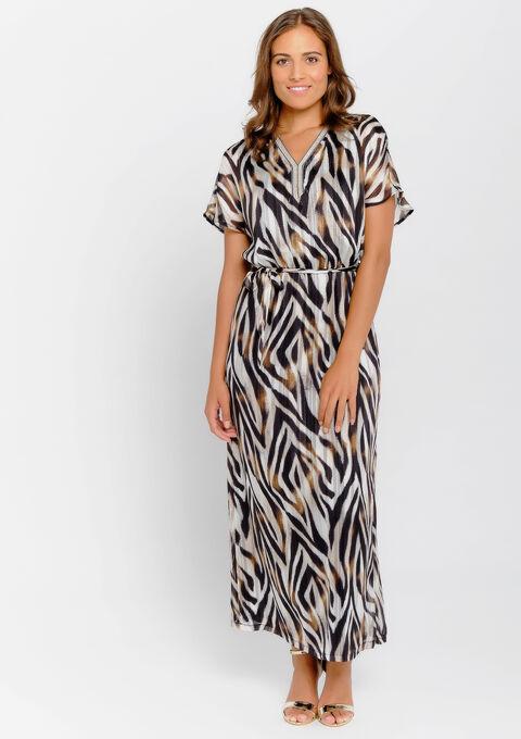 Maxi robe imprimée - BLACK - 08600806_1119