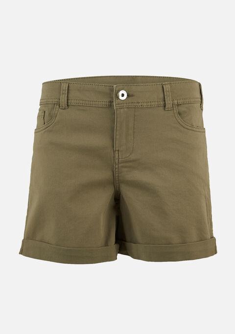 Basic short - KHAKI FIG - 06100239_4305