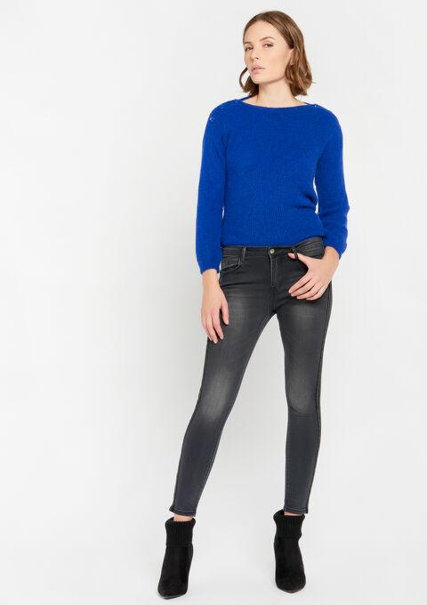 Skinny jeans - DARK GREY - 22000153_931