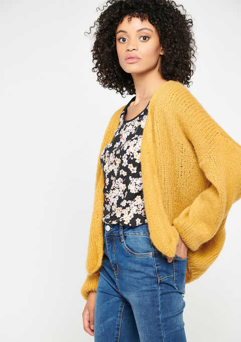 Cardigan - YELLOW MINERAL - 04100684_1222