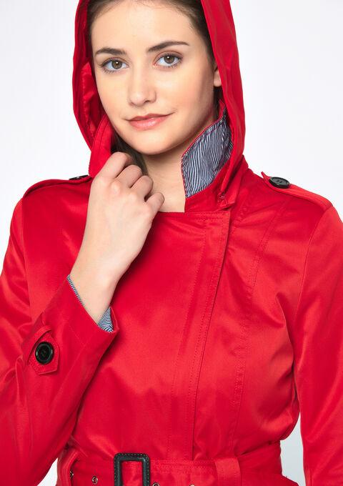 Impers avec capuche - RED HIBISCUS - 23000148_1407