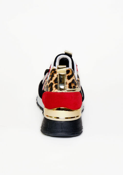 Sneakers imprimé animal - RED RACING - 13000465_1497