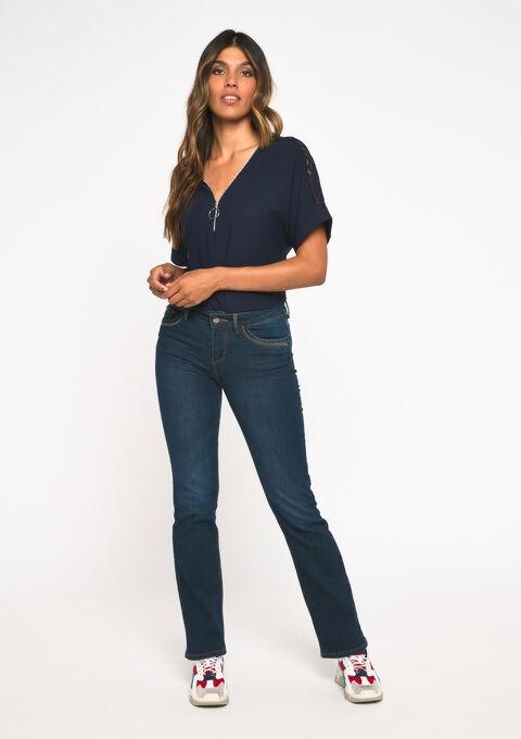 Bootcut jeans - DARK BLUE - 22000118_501