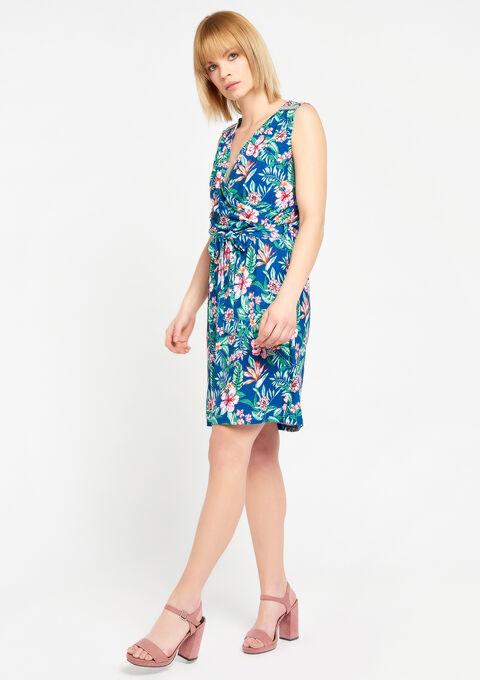 Cache coeur jurk met parels - NAVY MILD - 08100523_2712
