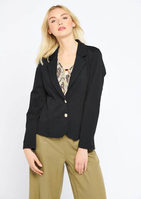 Klassieke blazer - BLACK - 09100174_1119