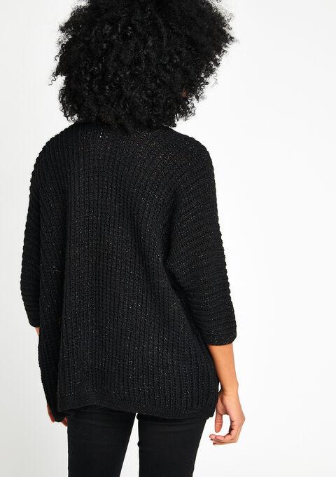 Cardigan - BLACK - 921228