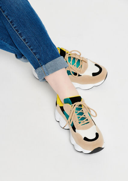 Trendy sneakers - TURQUOISE SPRUCE - 13000364_3101