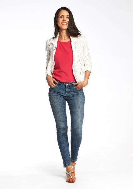 Jeans met lovertjes - BLUE DENIM - 06003471_1638