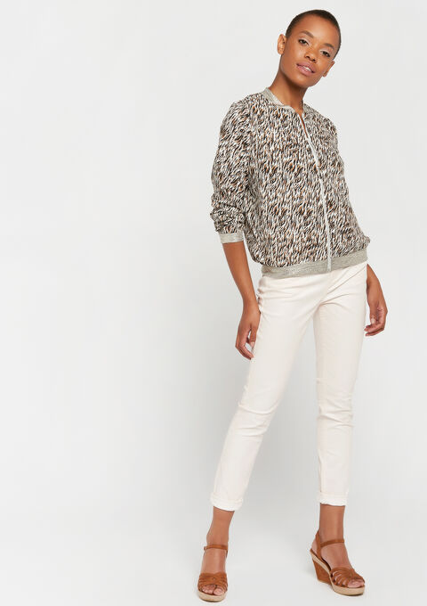 Bomber - BEIGE BROWN - 09100231_4014