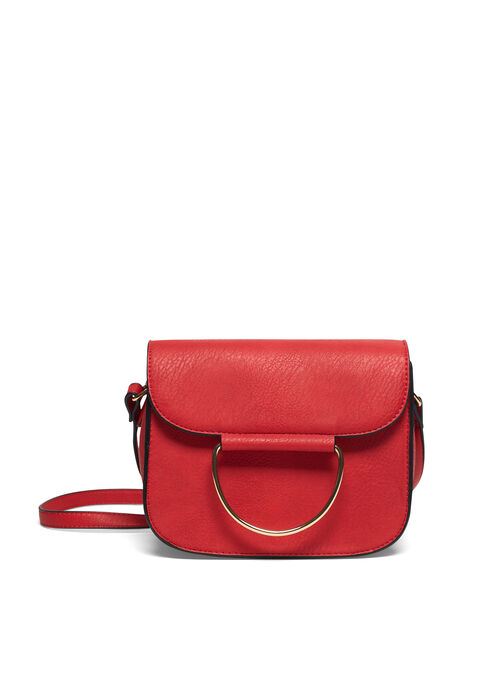 Handbag with buckle - RED PAVOT - 948111