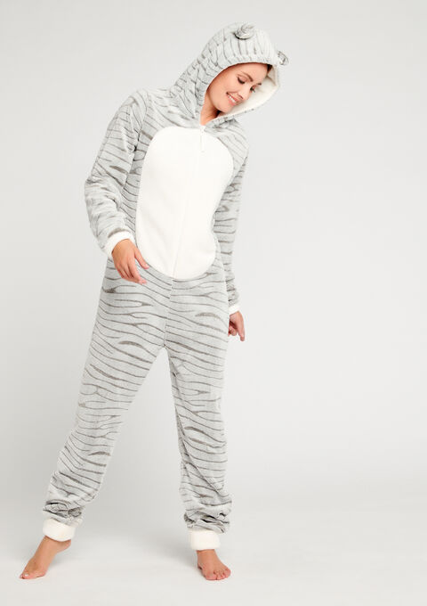 Onesie 'zebra' - ICE GREY - 15000438_1090