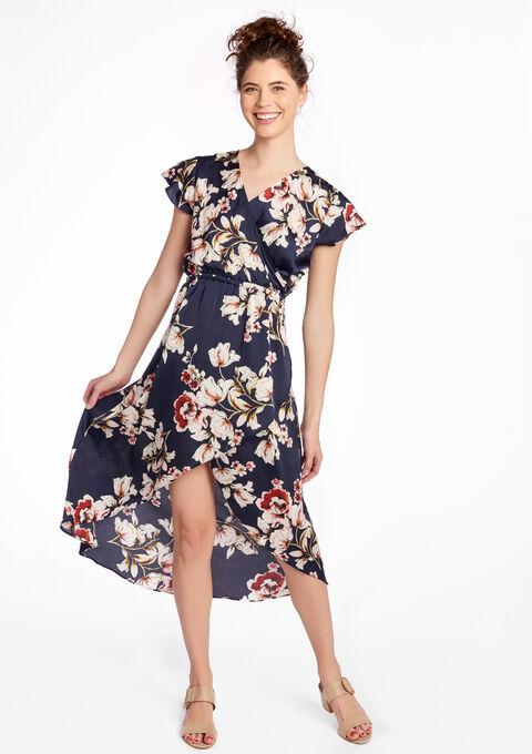 buy kwaliteit ontwerp kortingscode Lange jurk met ruches - LolaLiza