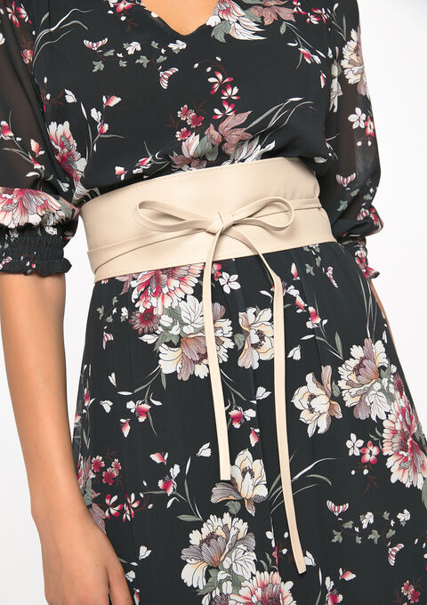 Ceinture faux cuir - TAUPE NOMADE - 967767