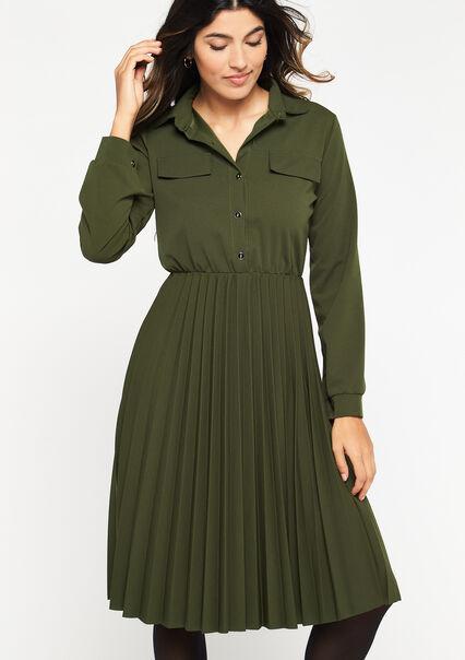 Robe chemise - KHAKI TAN - 08102122_4319