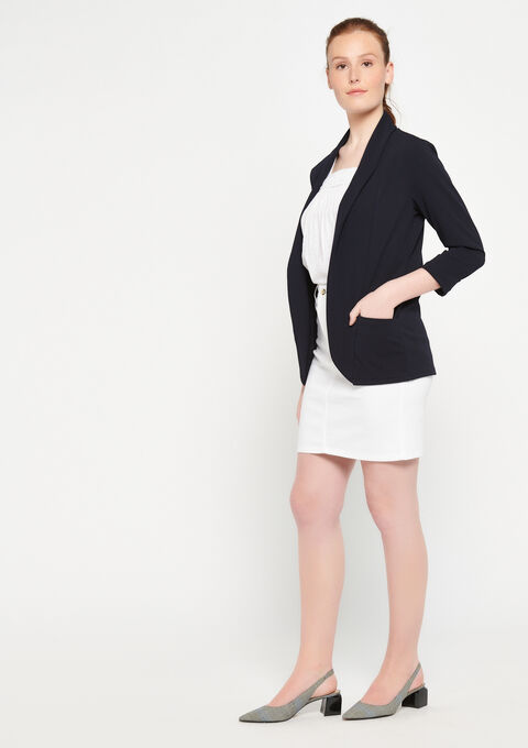 Blazer - NAVY BLUE - 09100183_1651