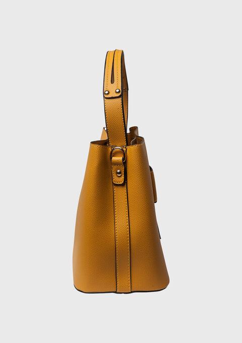 Bag with eyelets - YELLOW SUREAU - 935129