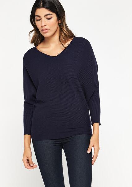 Sweater open back - NAVY POWER - 04005150_2719