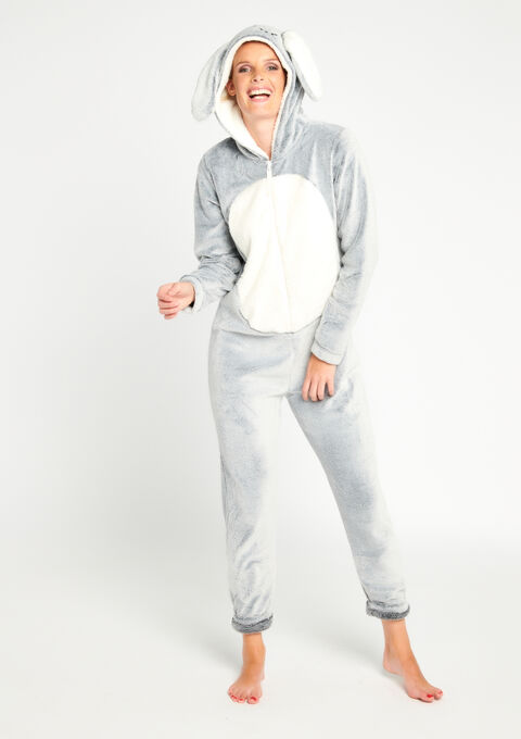 Onesie 'Konijn' - ICE GREY - 15000440_1090