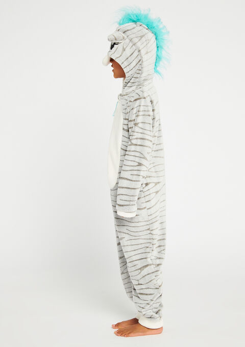 Onesie 'Zebra' - ICE GREY - 900879