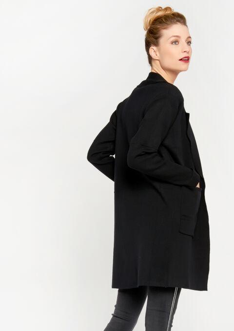 Lange cardigan -COATIGAN - BLACK - 04800210_1119