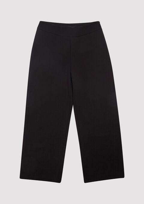 Klassieke wijde broek - BLACK - 06100166_1119