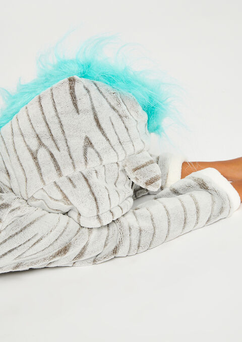Onesie 'Zebra' - ICE GREY - 900875