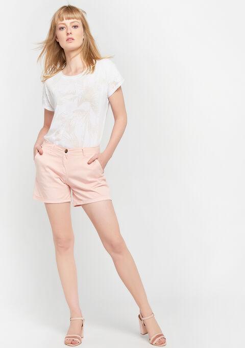 Chino shorts - PINK CALM - 06100216_4102