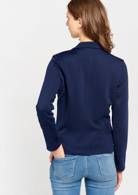 Klassieke blazer - PEACOAT BLUE - 09100168_1655
