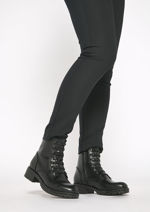 Lace up boots - BLACK - 13100030_1119