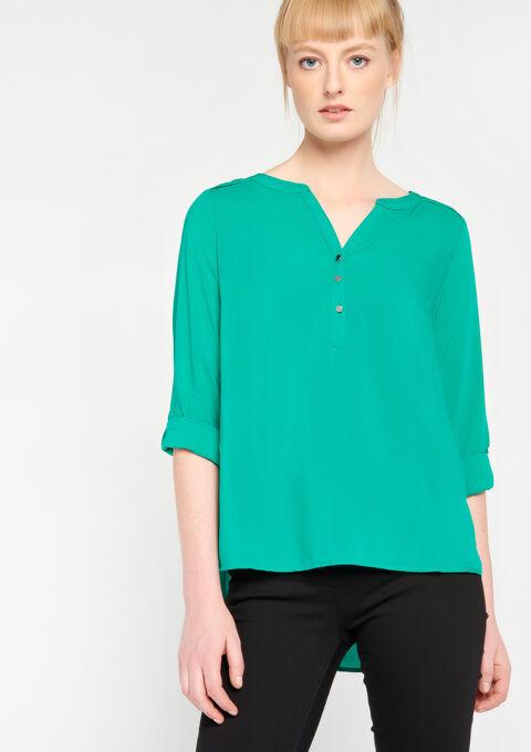 Effen blouse - GREEN GAZON - 05003471_4604
