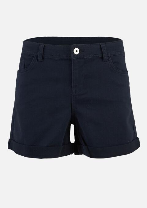 Basic short - NAVY SHADOW - 06100239_2713