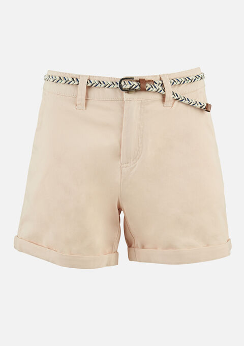 Chino short - PINK SHELL - 06100237_1311