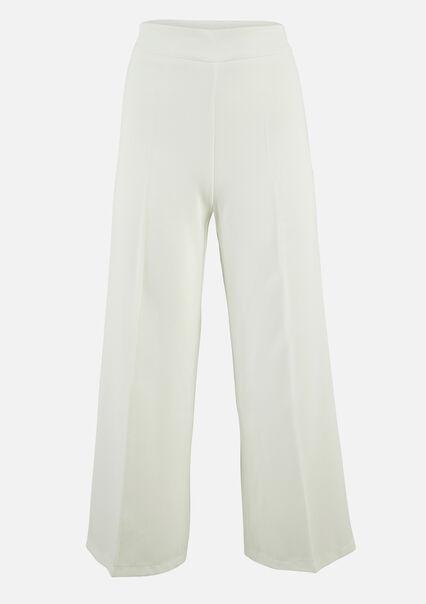 Pantalon classique large - NATURAL WHITE - 06100262_2510