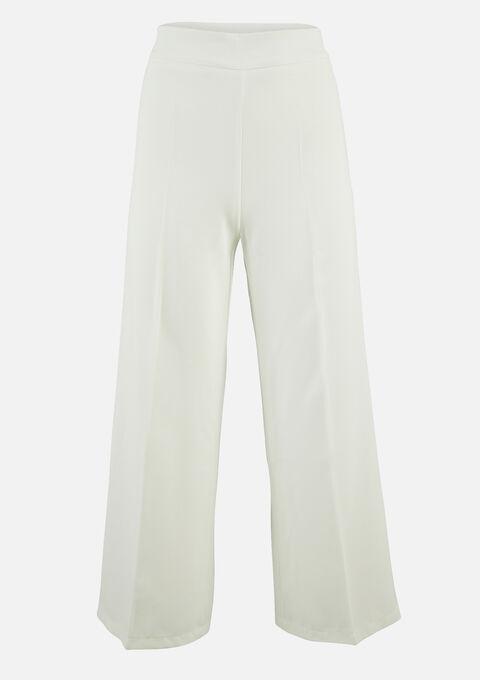 Klassiek wijde broek - NATURAL WHITE - 06100262_2510